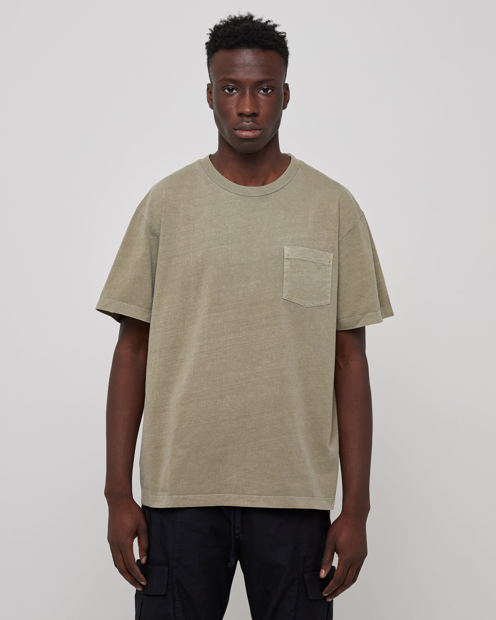 Lucky Pocket T-Shirt in Sage