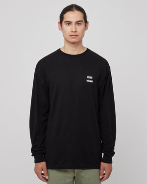 MOMA L/S T-Shirt in Black