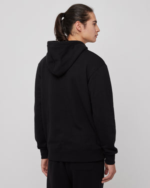 Claude Monet Hoodie in Black