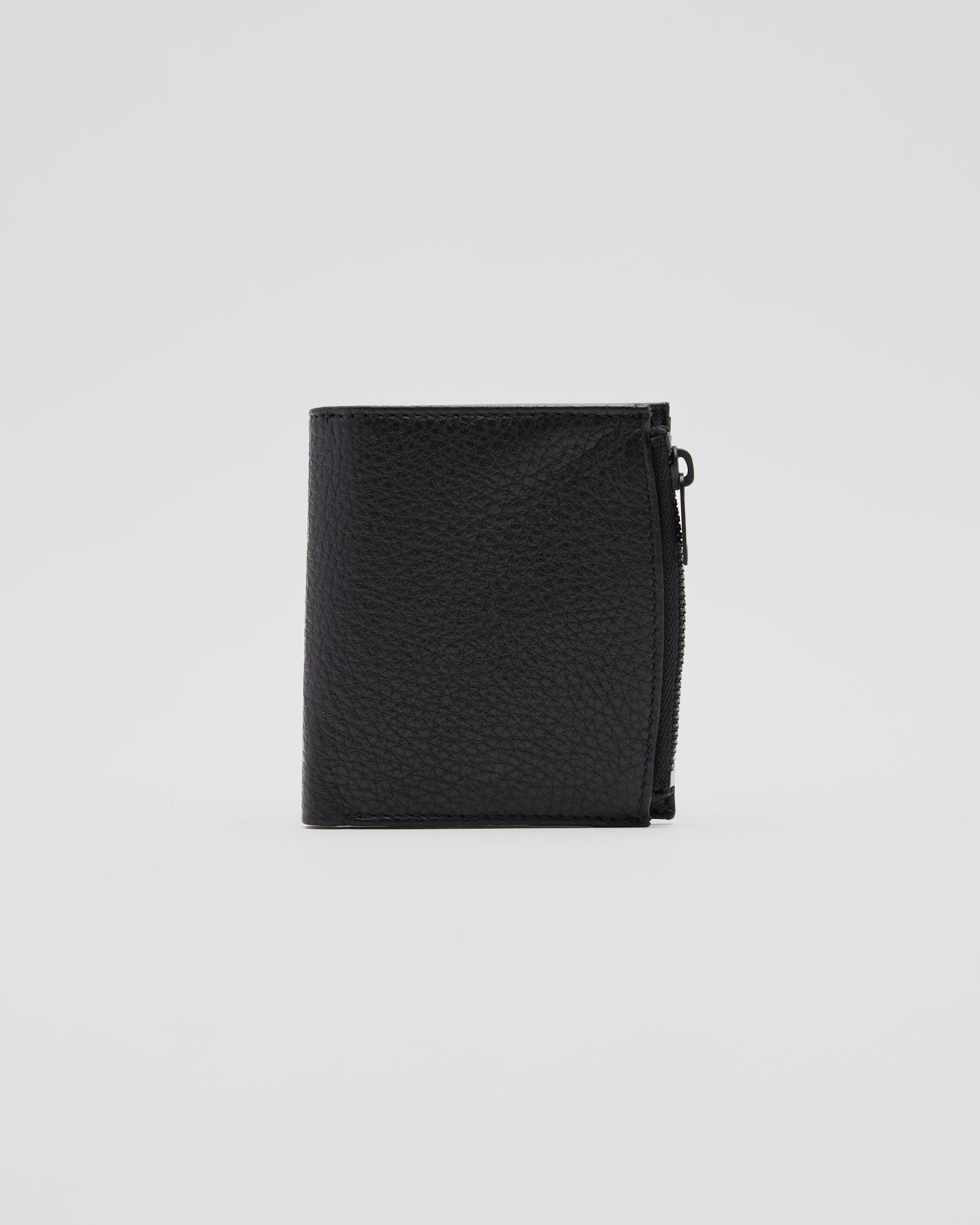Stitch Wallet in Black