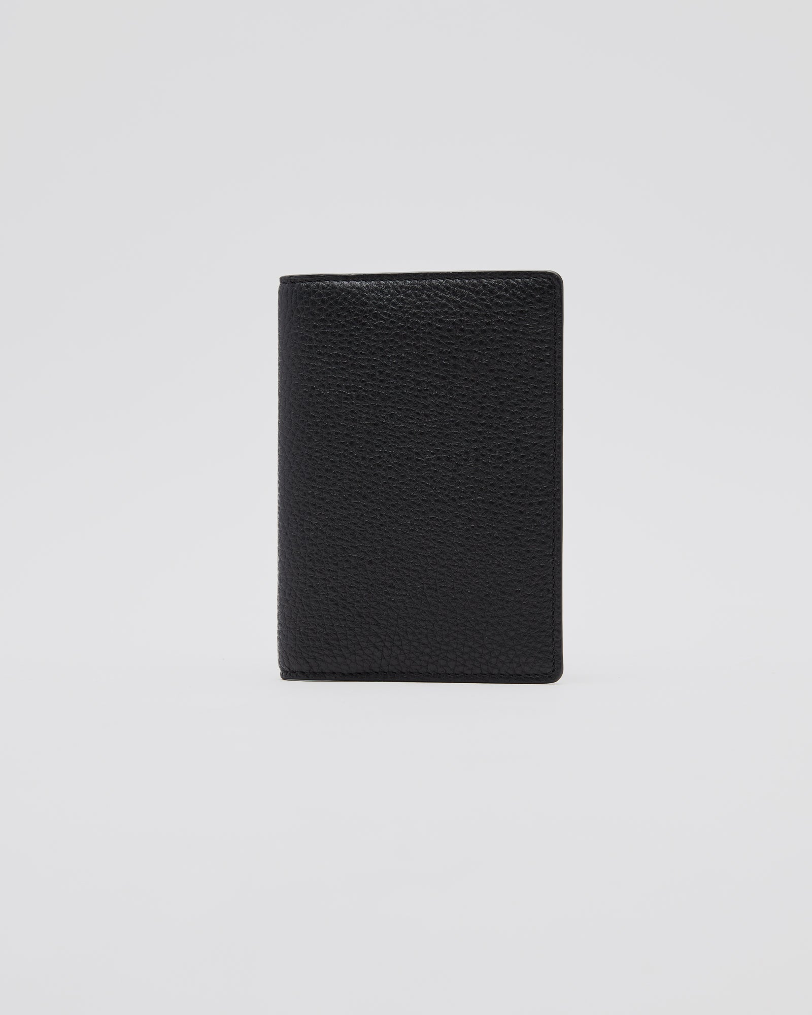 Stitch Passport Holder in Black