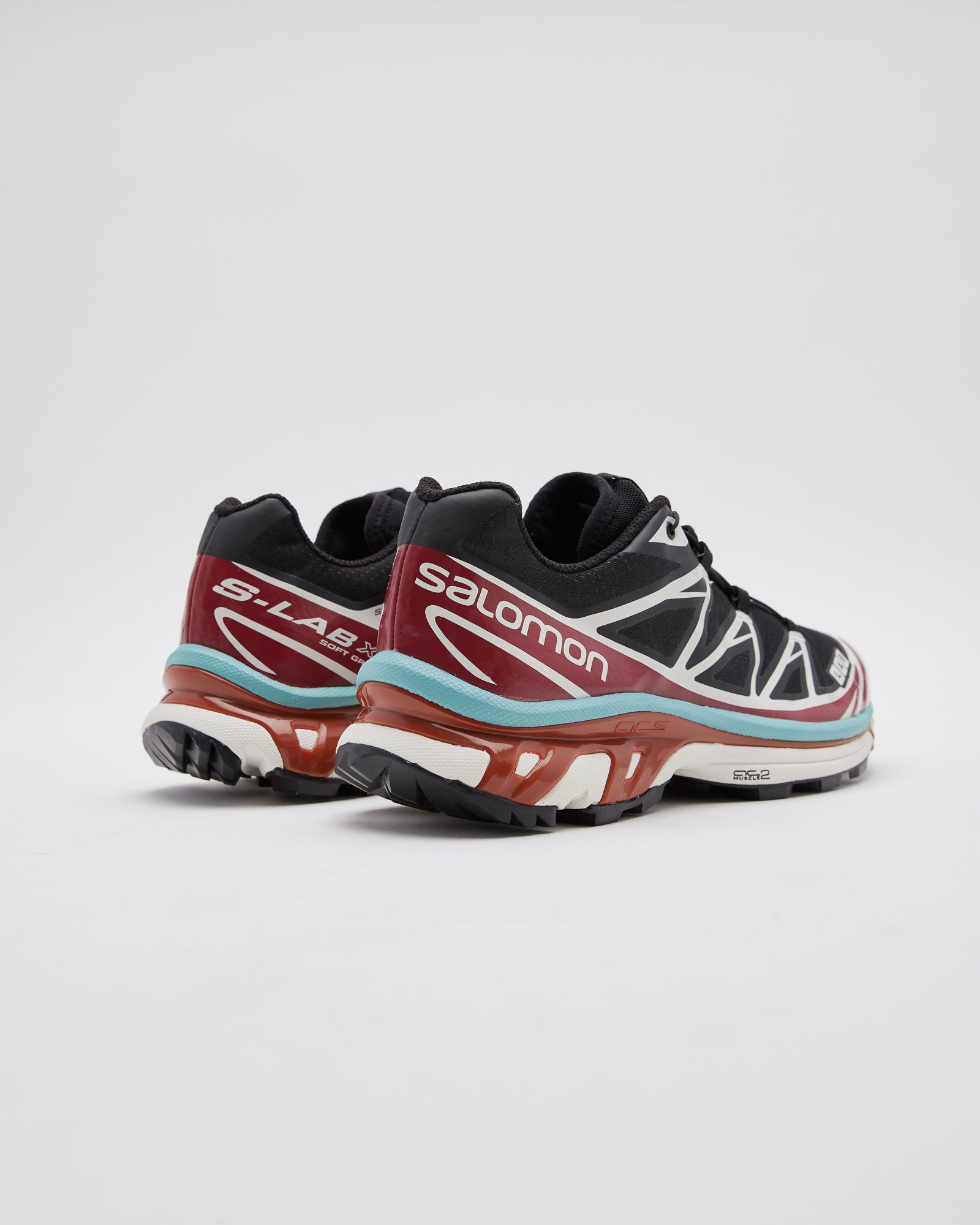 XT-6 ADV Sneakers in Black/Red Dahlia/Meadowbrook