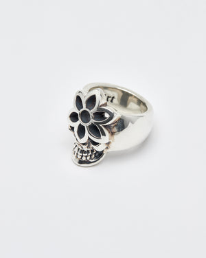 Steal Your Rosette Ring, Large, Sterling, Size 9