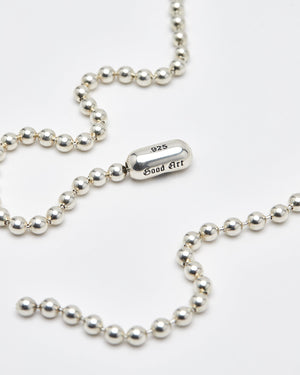 Ball Chain Necklace, #10, Sterling