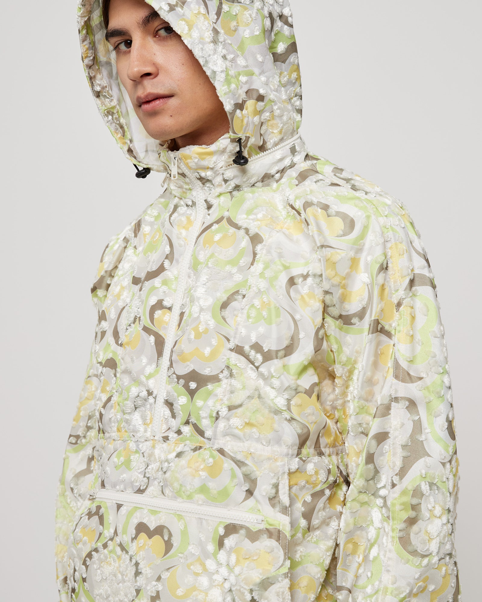 Packable Hood Anorak in Assorted
