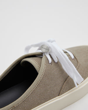 101 Backless Sneaker in Taupe