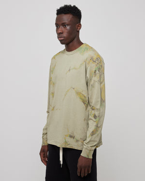 L/S University T-Shirt in Carnival Sage