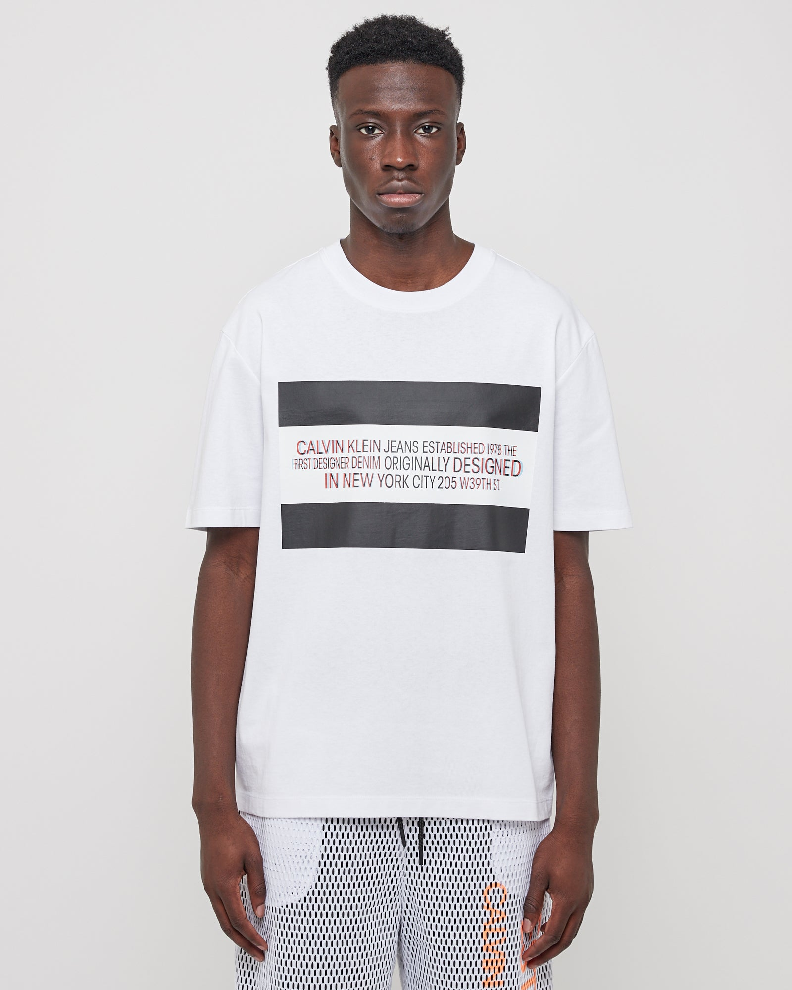 3D EST. 1978 Logo SS T-Shirt in White