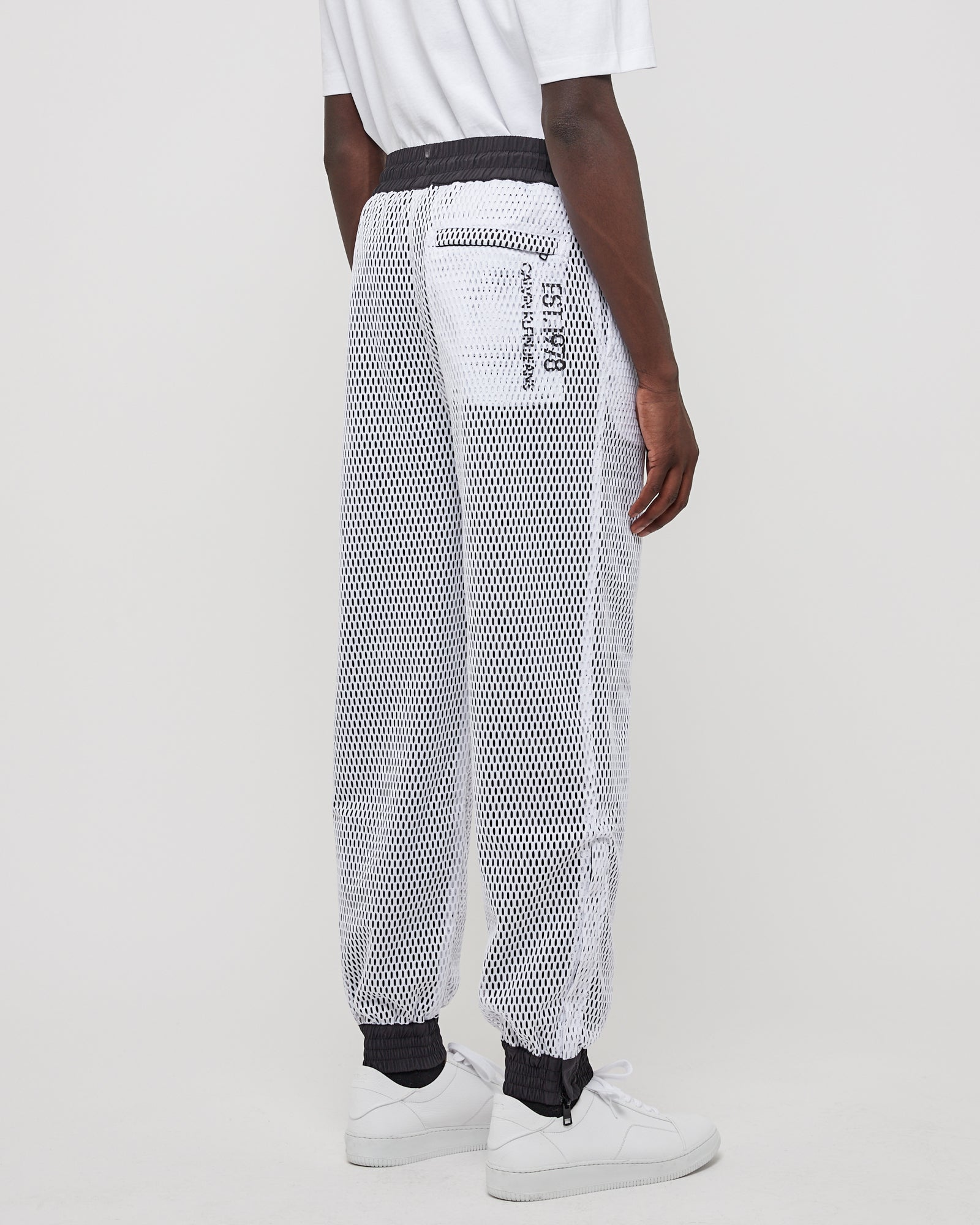 Inside Out Track Pants in Black