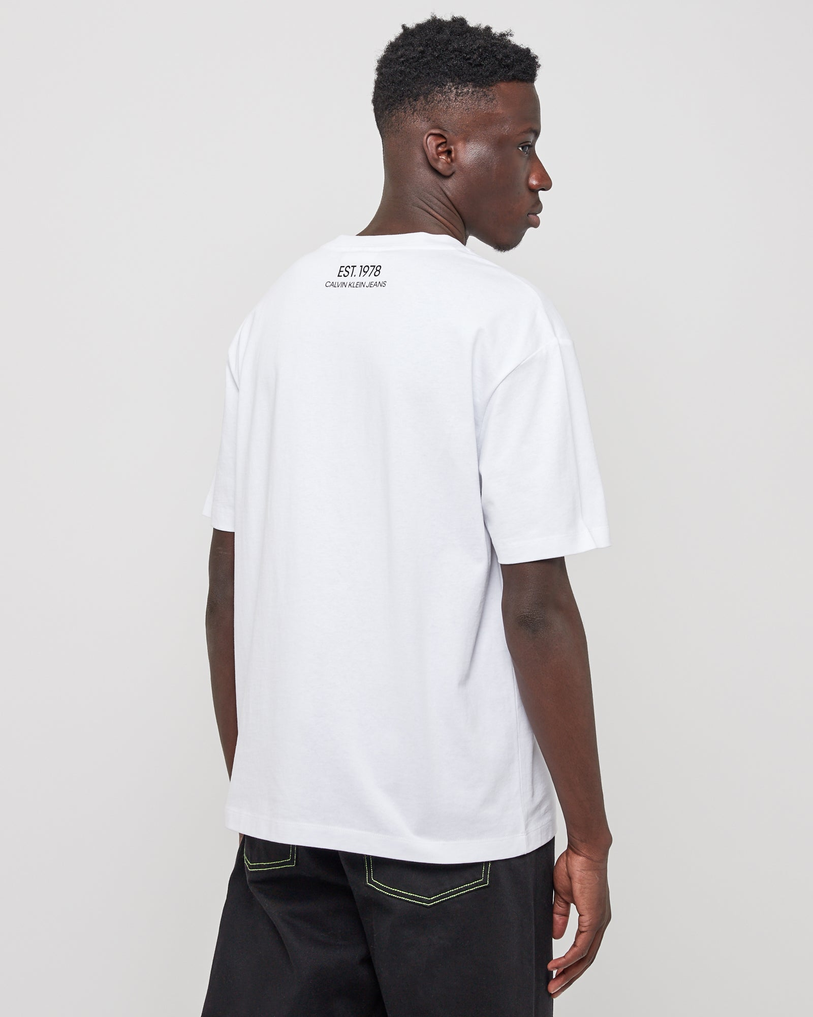3D Logo SS T-Shirt in White