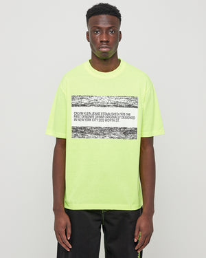 EST.1978 Logo SS T-Shirt in Yellow