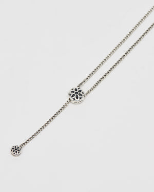 PMF Curb Chain Necklace, #1, Sterling