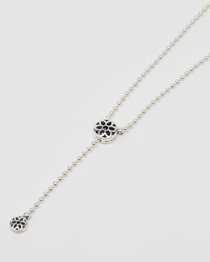 PMF Ball Chain Necklace, #10, Sterling