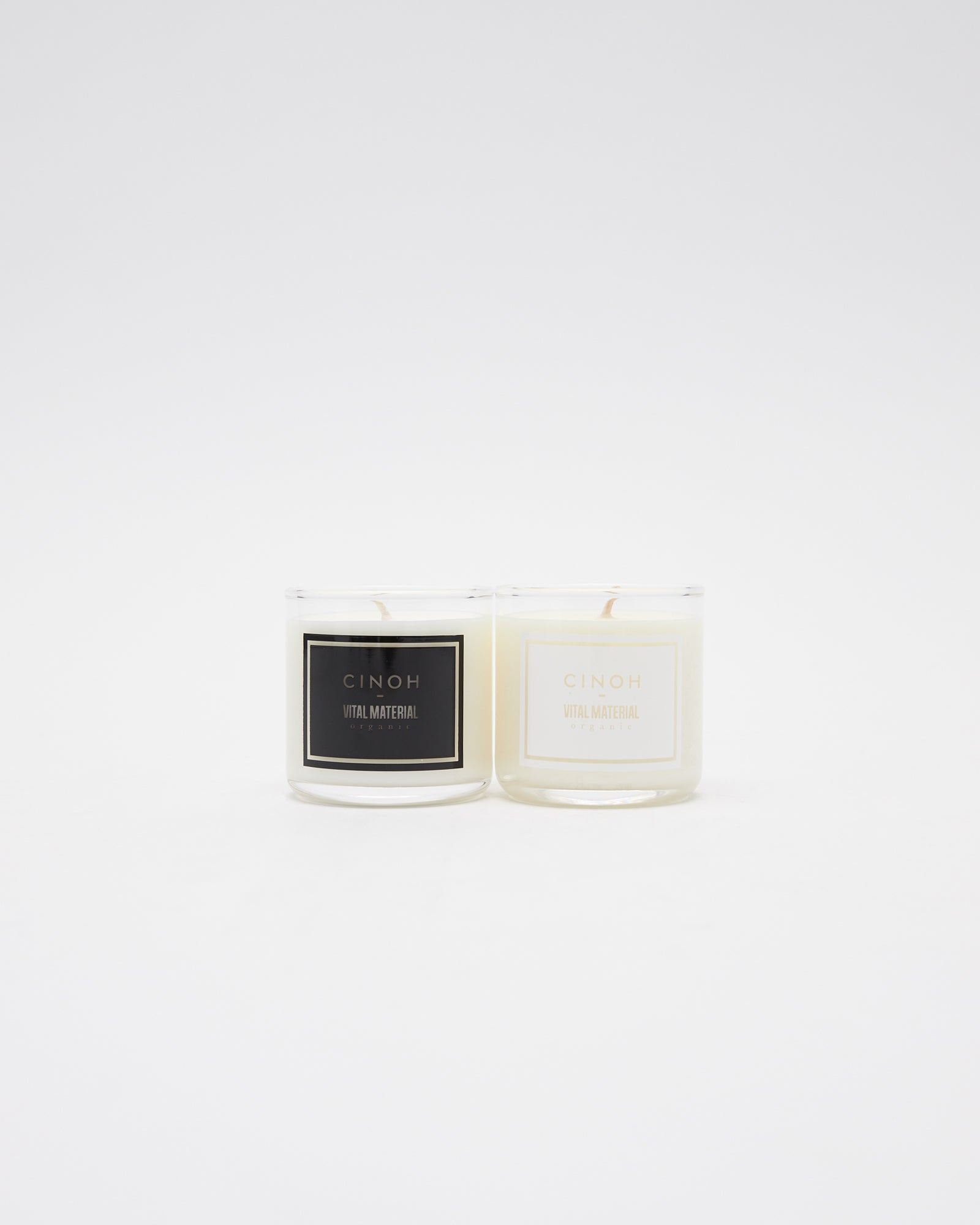 Soy Wax Candle Set Morning + Evening