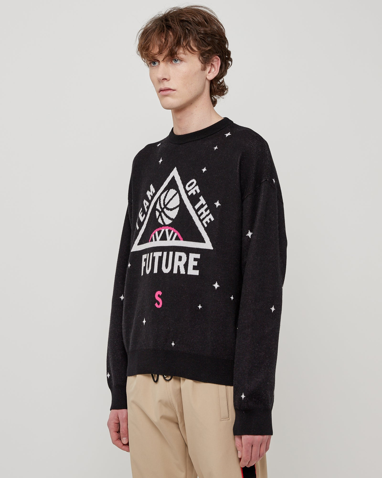 Team Of The Future Sweater in Black