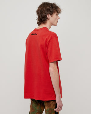 The Sound Band Tee in Red