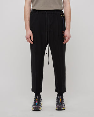 Jersey Lounge Pant in Black