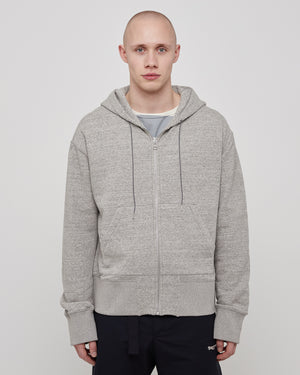 System Hoodie in Heather Gray