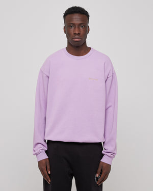 Classic Crewneck in Lilac