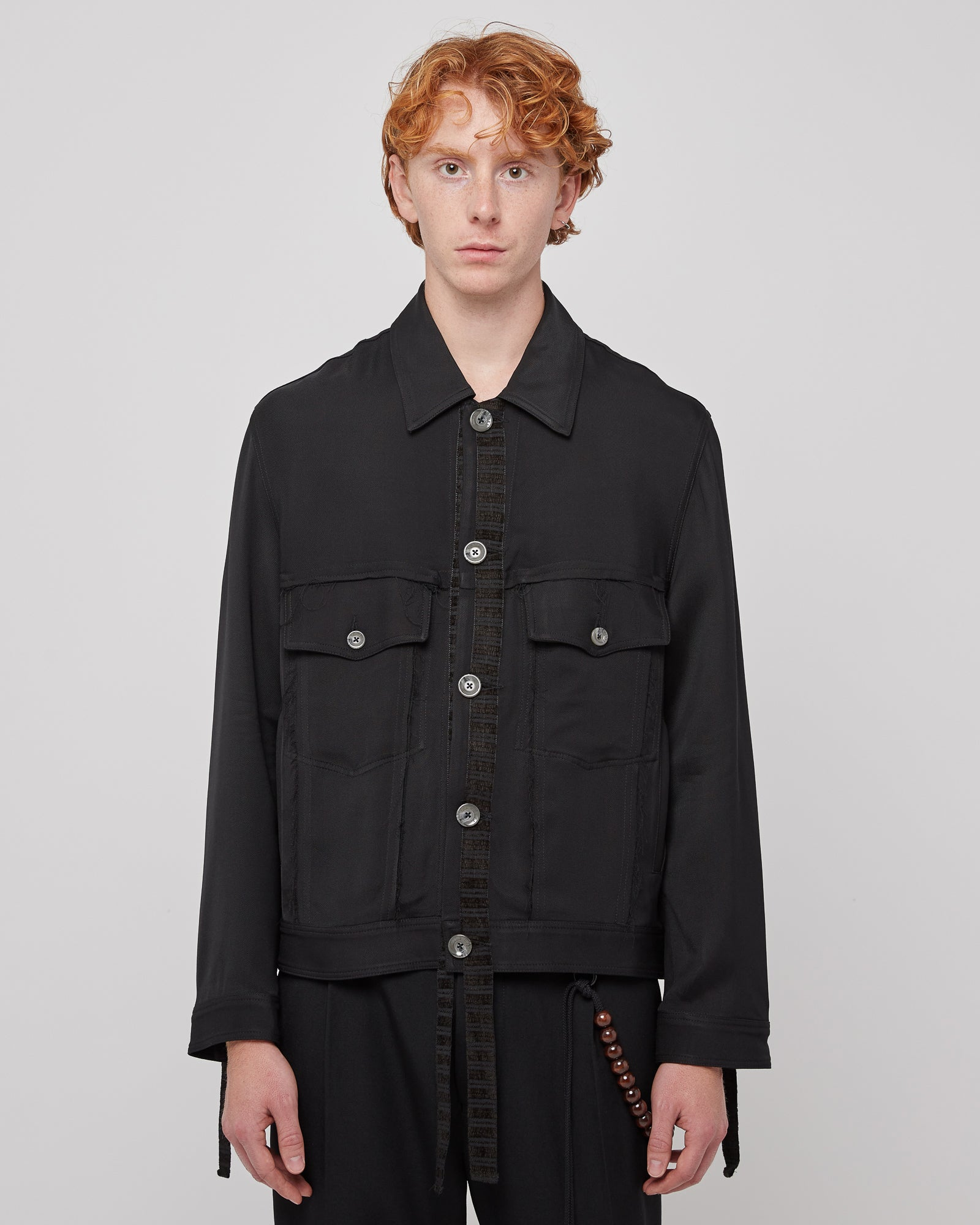 Worker Jacket in Petrol