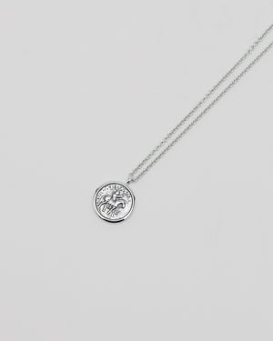 Coin Pendant in Silver