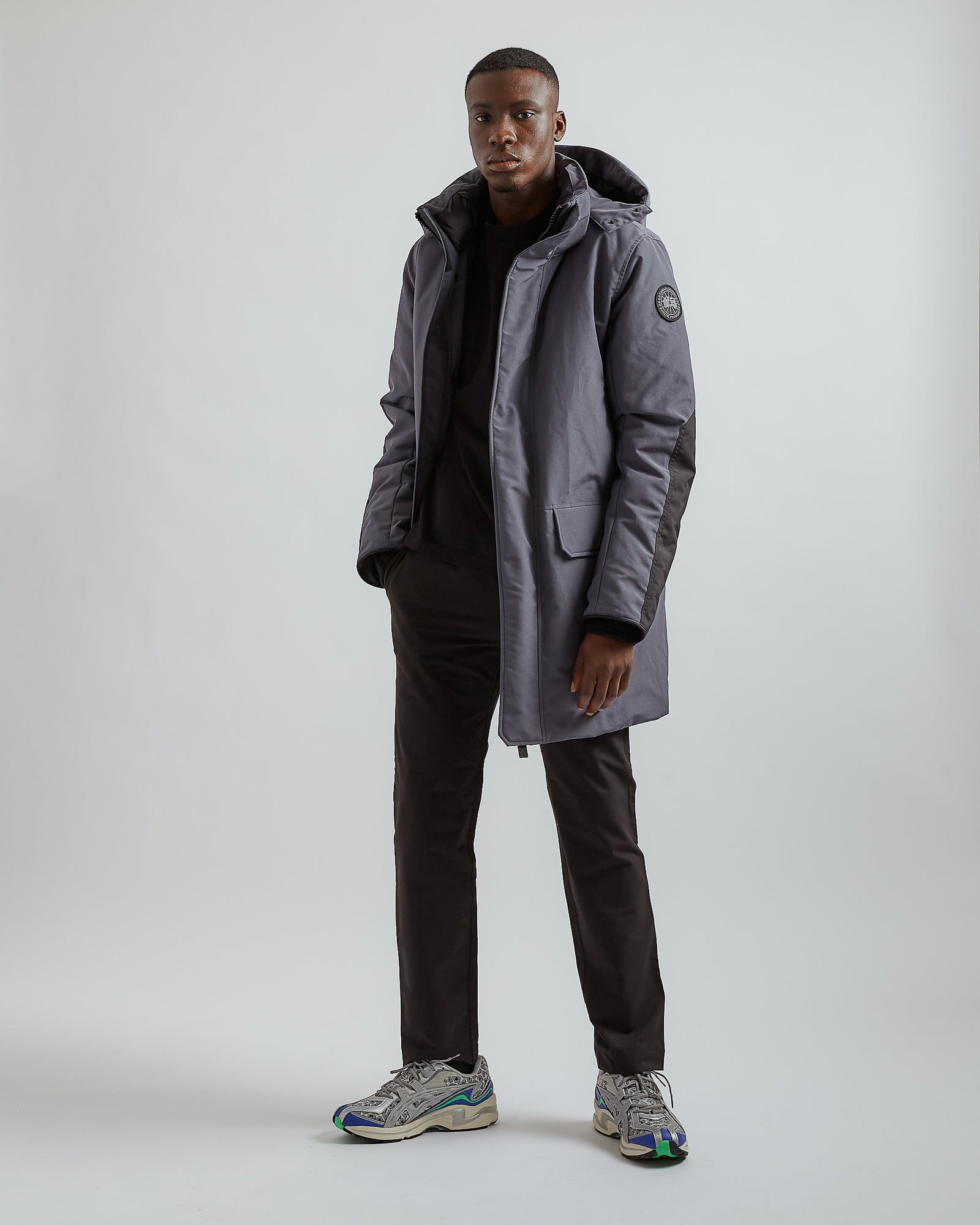 Brockton Parka in Titanium