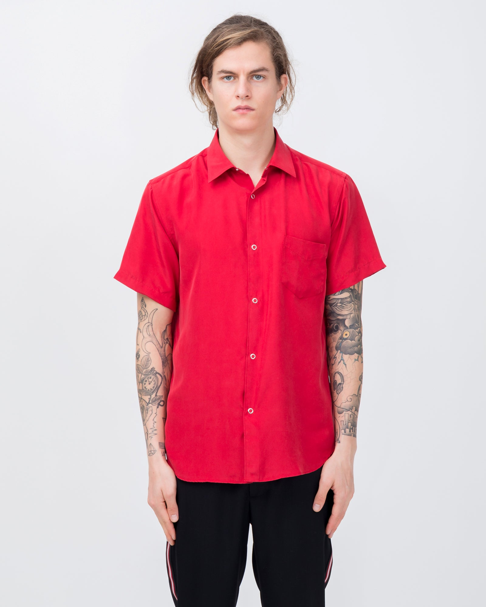 Short Sleeve Shirt in Diablo