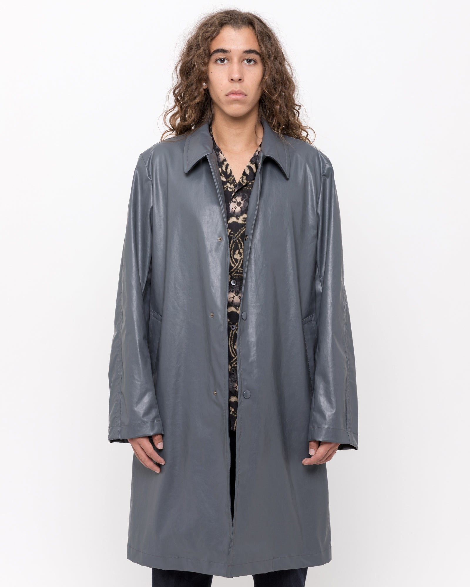 Roal Coat in Gray