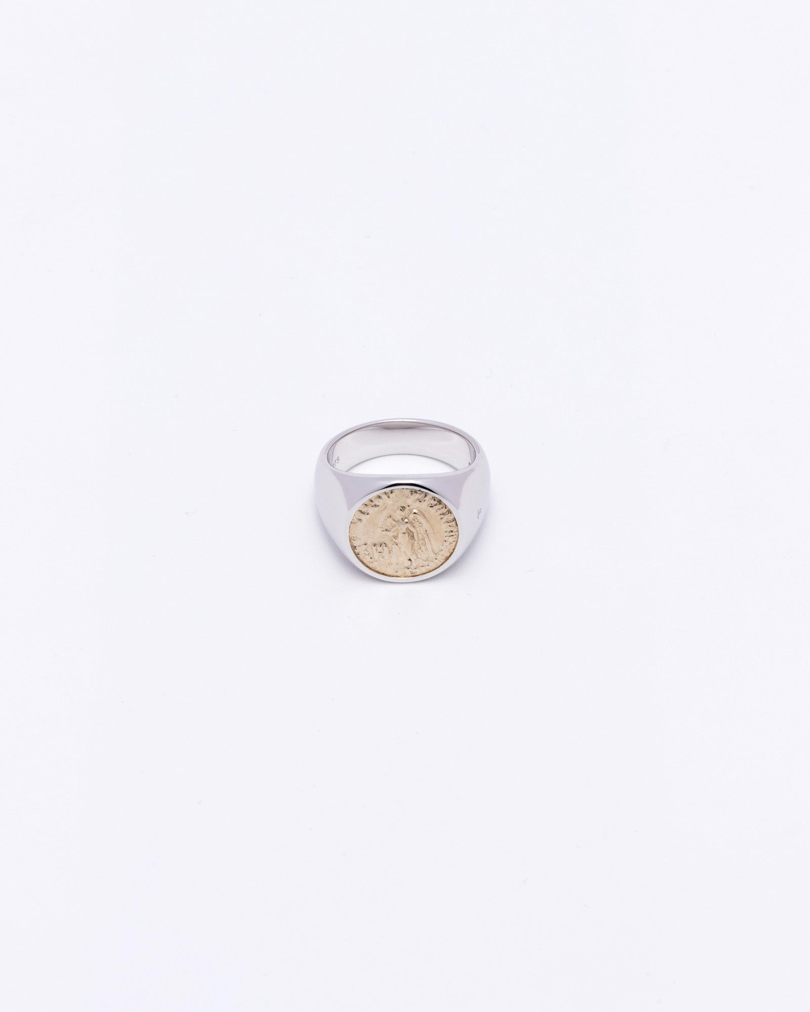 Coin Ring Angel Gold (M)