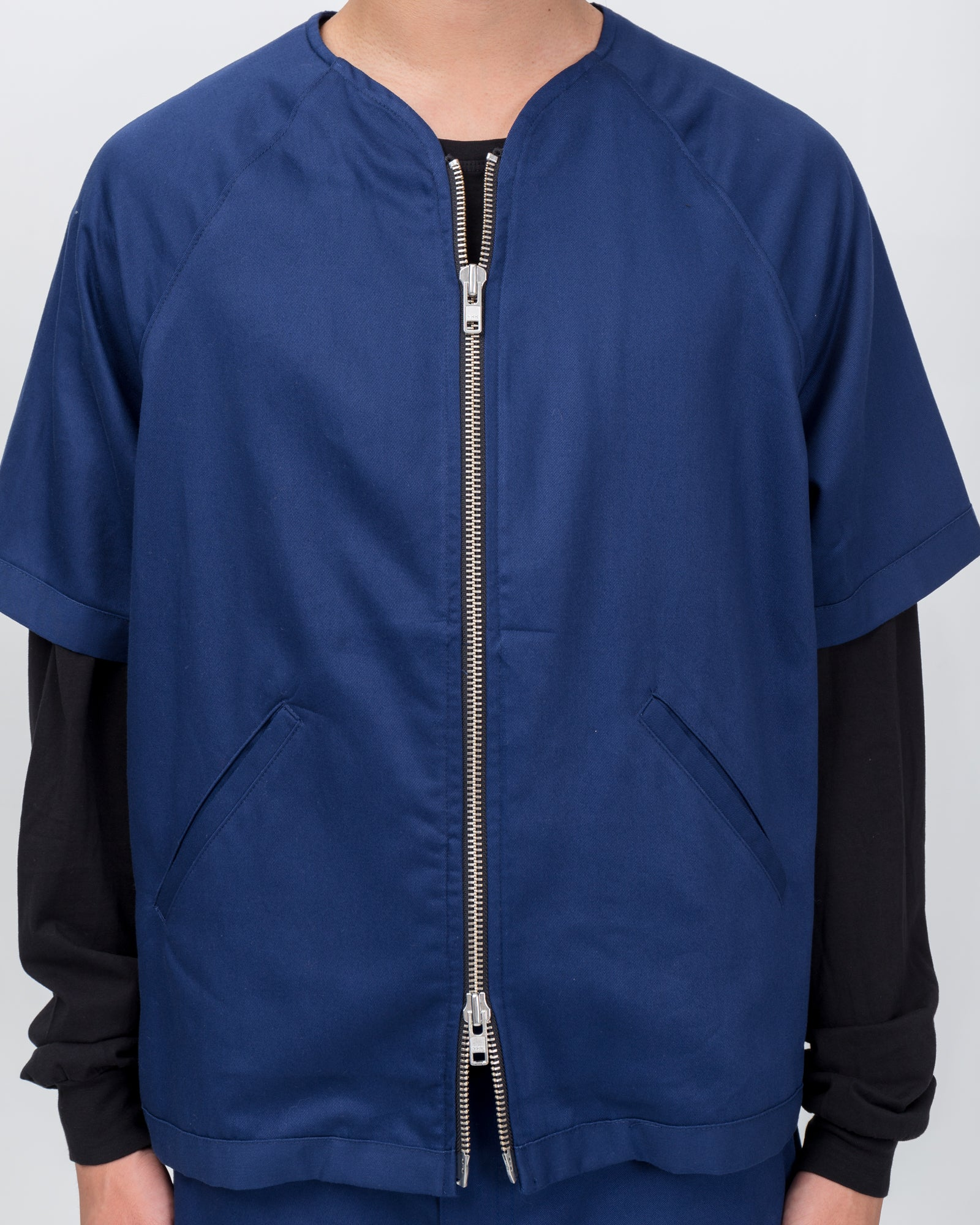 Off Track Jacket in Navy
