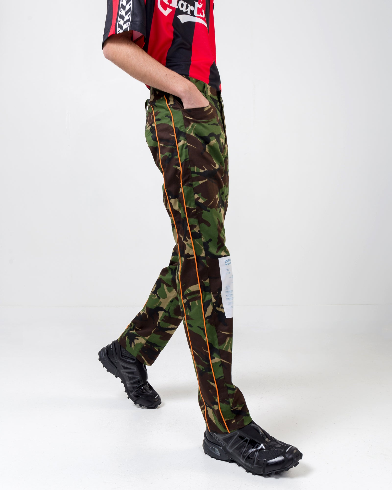 Camo Trouser in Green