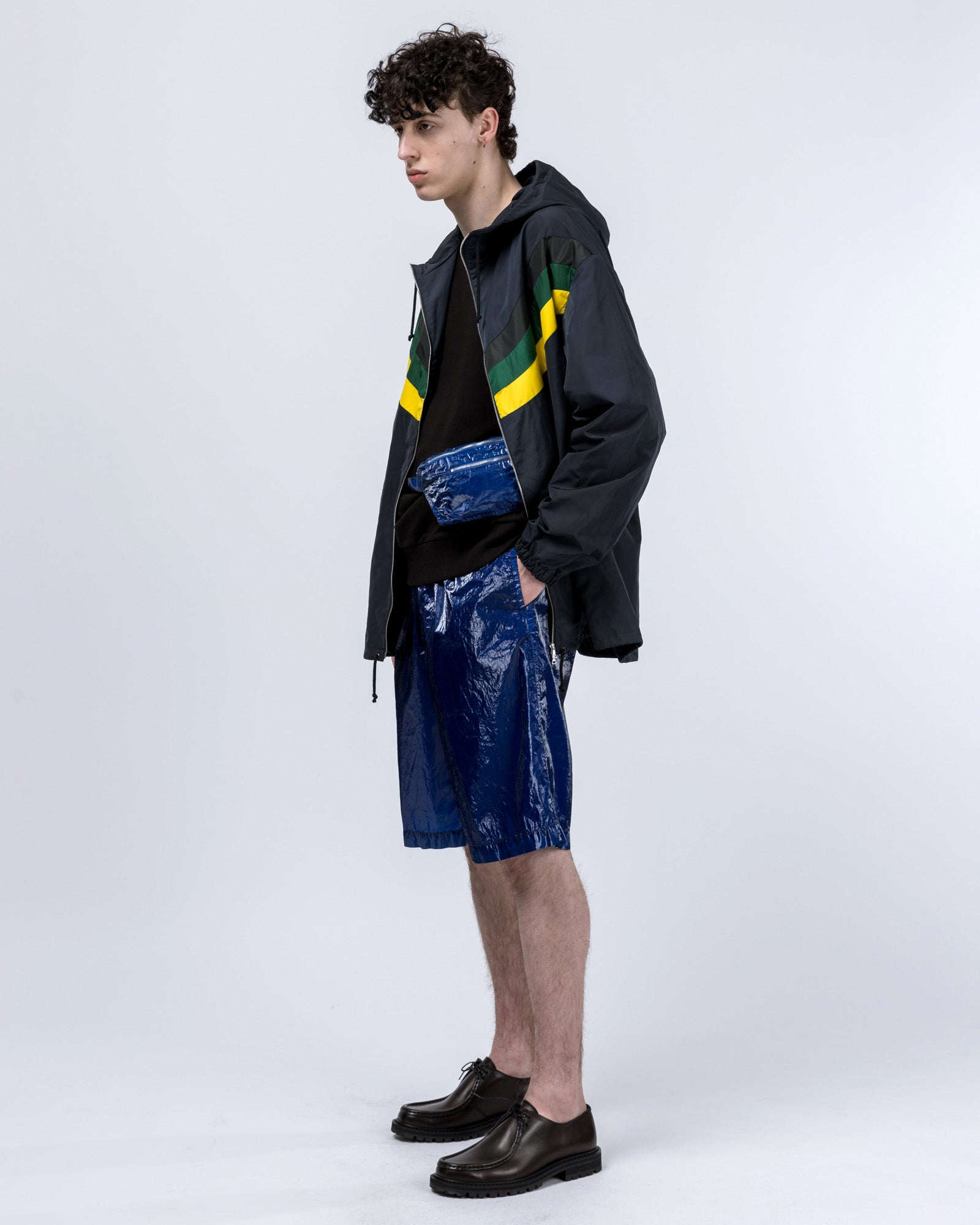 Vence Jacket in Navy / Yellow | Dries van Noten