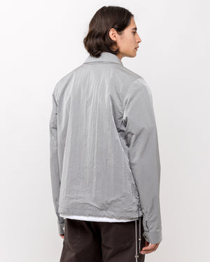 Vented Jacket in Gray