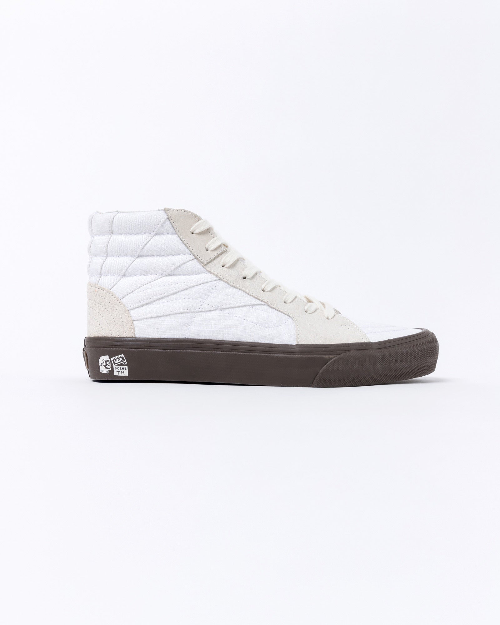 UA TH SK8-Hi SR LX in Linen Suede Sun Ray