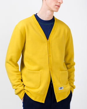 Cardigan in Yellow