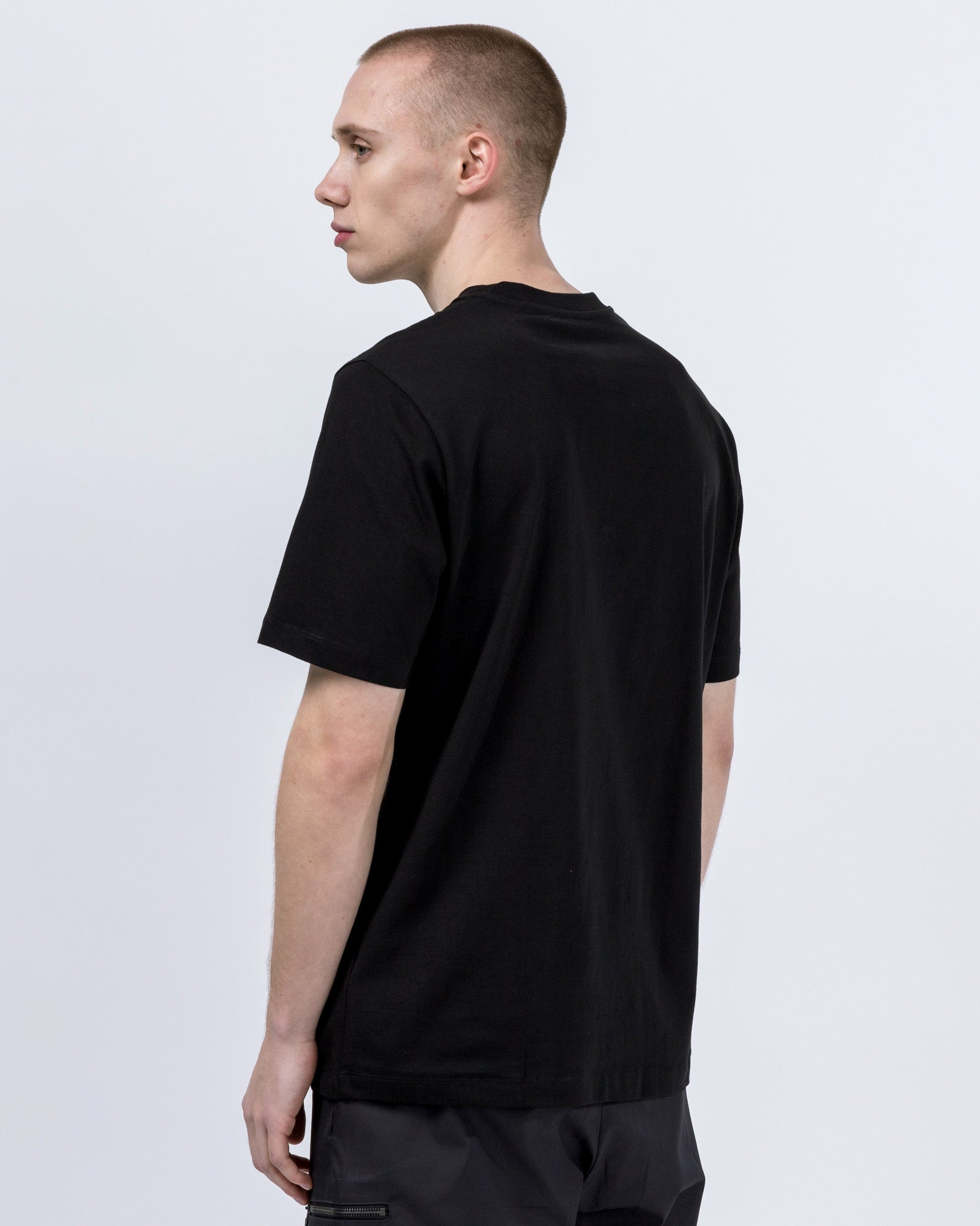 Numeral T-Shirt in Black