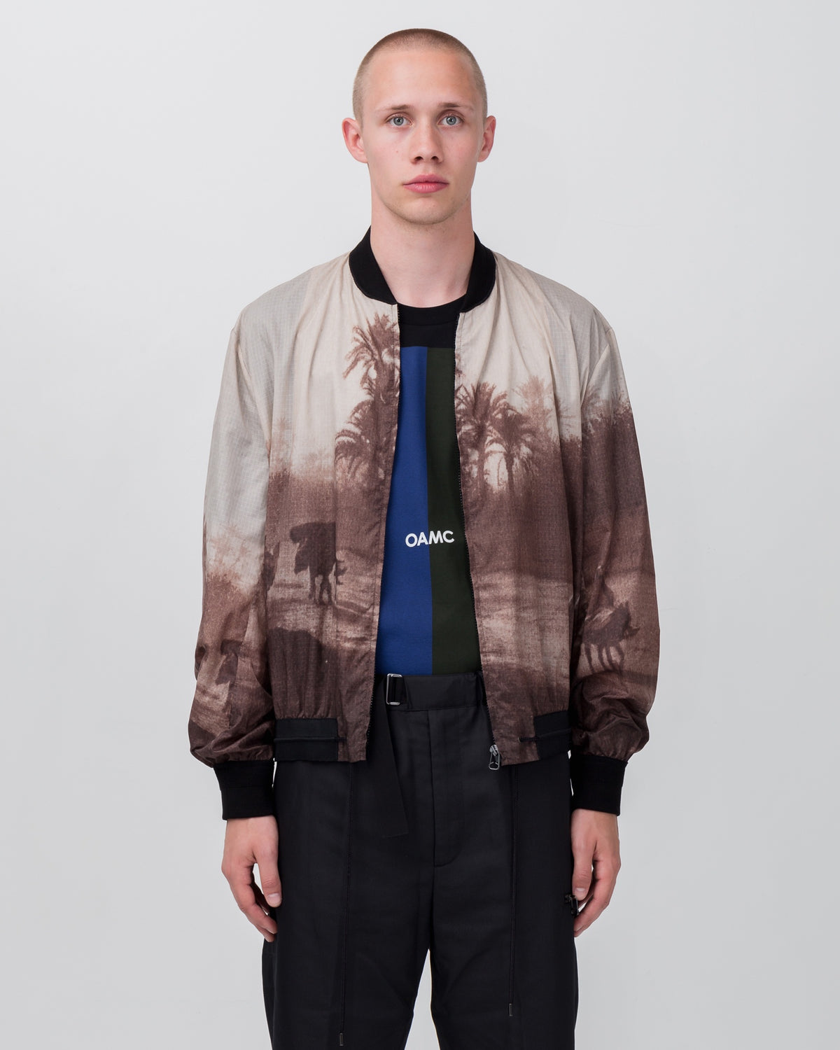 Postcard Bomber in Brown