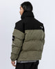 Readymade Flag Patch Down Jacket in Green