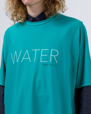 Water T-Shirt in Blue Green
