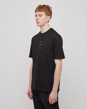 Oversized Logo T-Shirt in Black