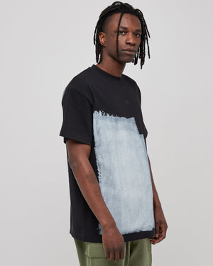 Block Painted T-Shirt in Black