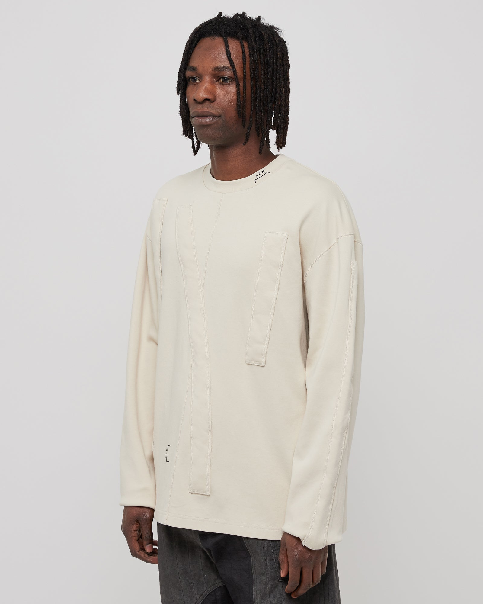 L/S 3D Tunnel Shirt in Almond Milk