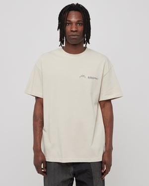 Logo T-Shirt in Almond Milk