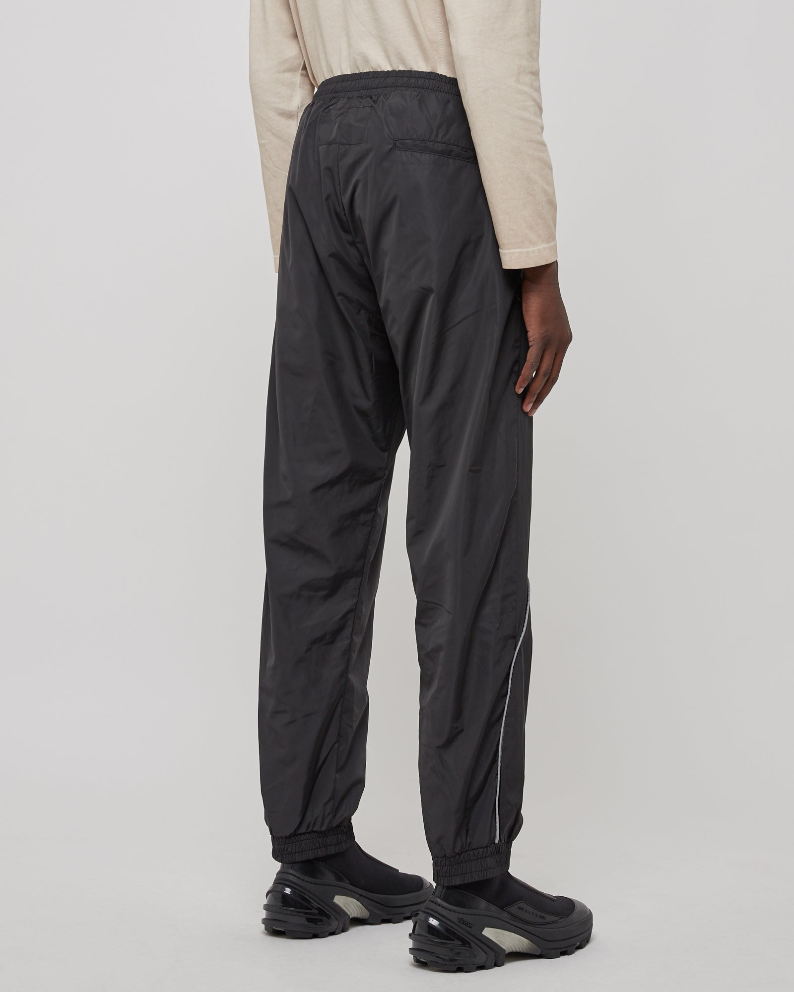 Piping Pocket Pant in Black