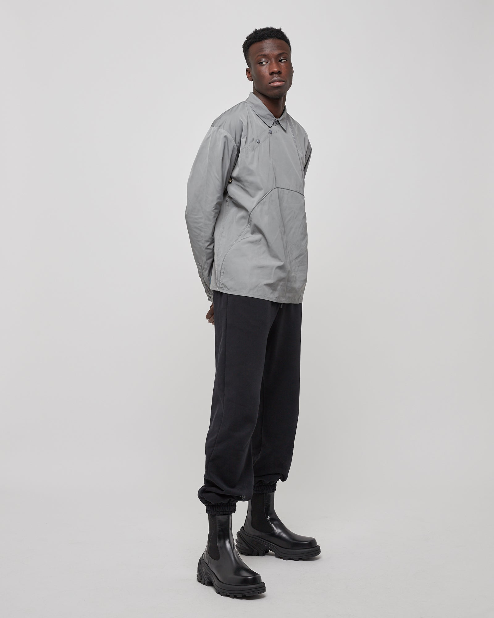Polo Piping LS in Sage