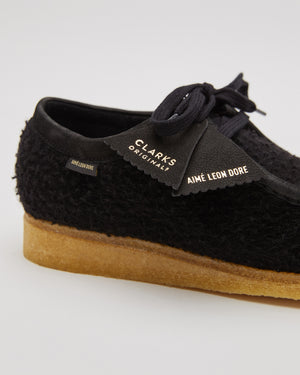 ALD/Clarks Casentino Wool Wallabees in Black