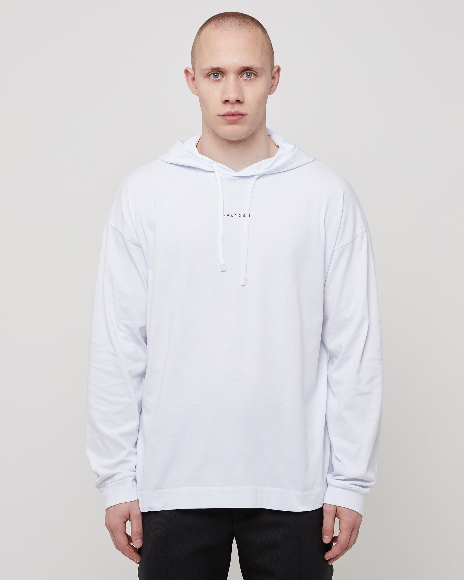 Hooded T-Shirt in White