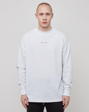 L/S Visual T-Shirt in White