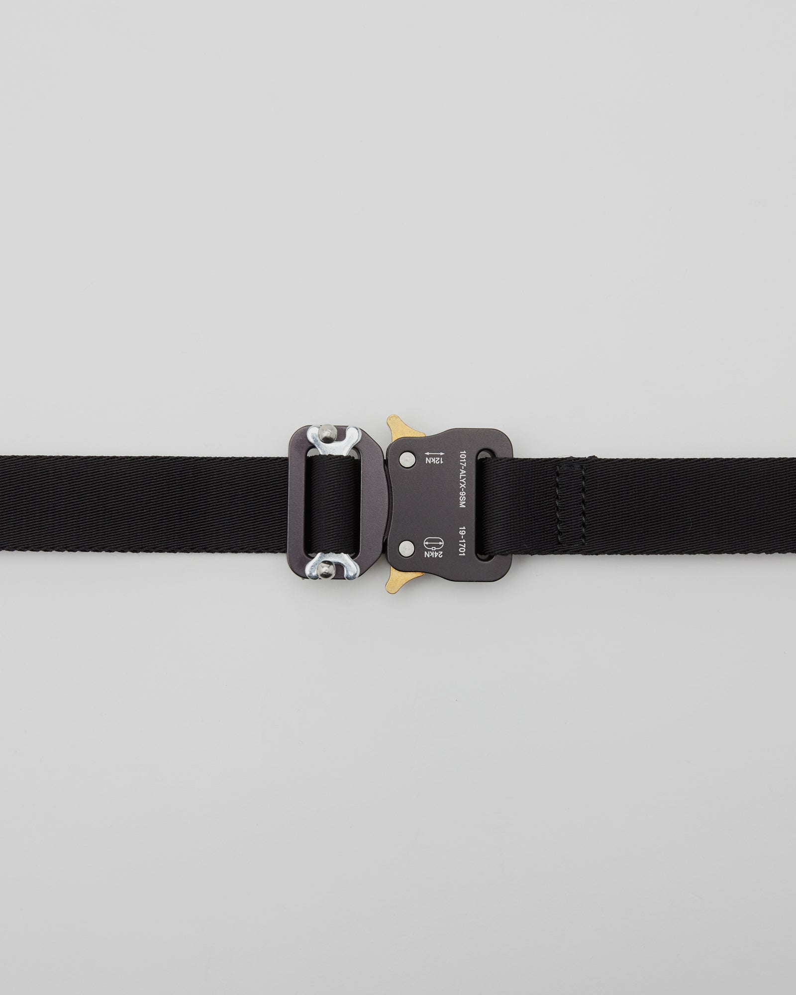 Medium Rollercoaster Belt in Black