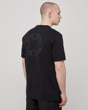 S/S A-Sphere T-Shirt in Black